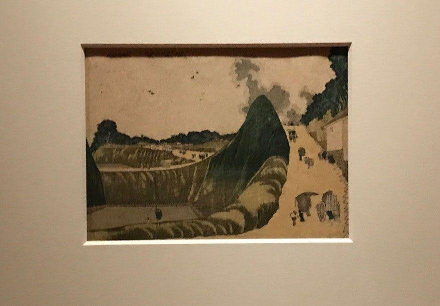 葛飾北斎《くだんうしがふち》19世紀 東京国立博物館
