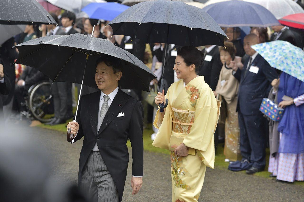 皇太子同妃両殿下 ©JMPA