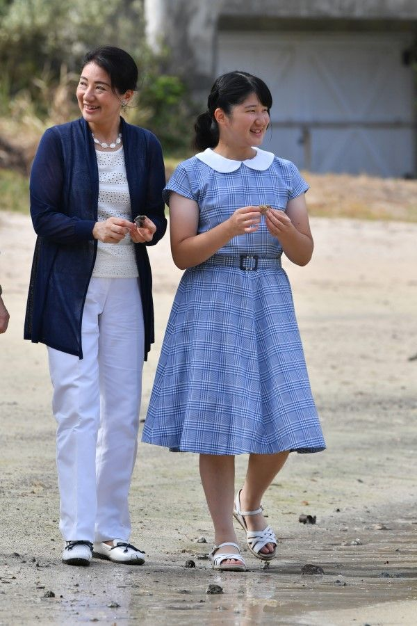 雅子さまと愛子さま ©JMPA