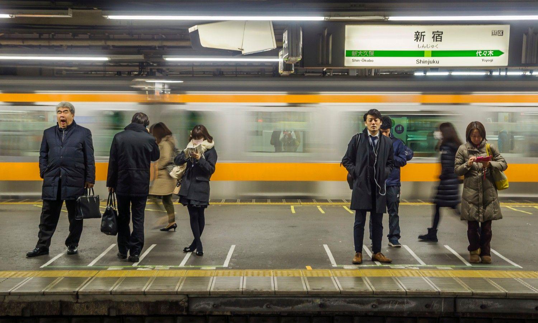 """""""眠らない町""""新宿 ©iStock.com"""