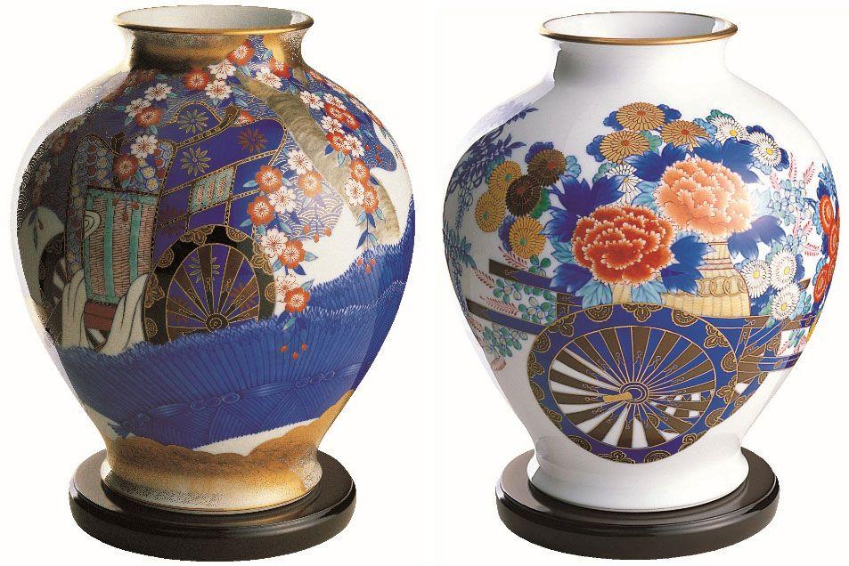 有田に陶磁器の技術がもたらされたのは1616年。中から発光しているような明度の高い白地、滑らかな表面に色鮮やかな模様が有田焼の真髄。香蘭社は皇室御用品、美術品、食器のほか、日本人の生活を支える碍子(がいし)を経営の柱にしてきた。近年では新しい素材ニューセラミックも手掛けている 写真提供・香蘭社