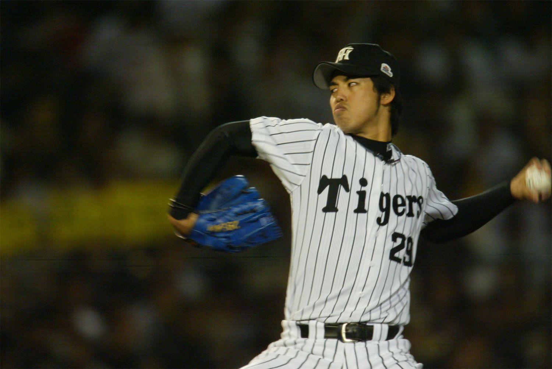 2002年から5年連続で二桁勝利を挙げた井川慶 ©文藝春秋