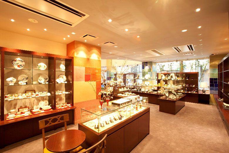 銀座香蘭社の店内 写真提供・香蘭社