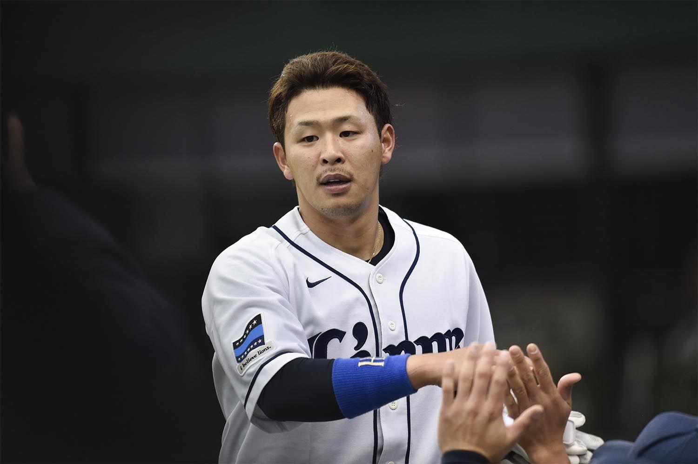 本塁打、打点など、すでにキャリアハイの数字をマークしている浅村栄斗 ©文藝春秋