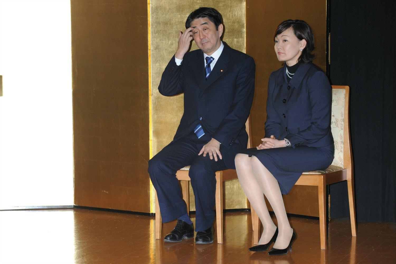 こちらでも主役の安倍首相と昭恵夫人 ©山田真実/文藝春秋