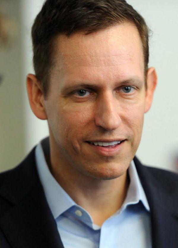 Peter Thiel(ペイパル創業者、投資家) ©時事通信社