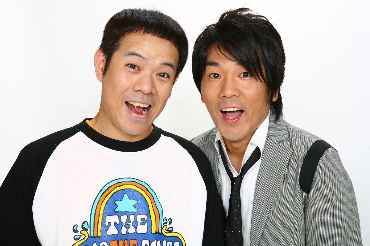 1989年にコンビ結成。FUJIWARAの原西孝幸(左)と藤本敏史