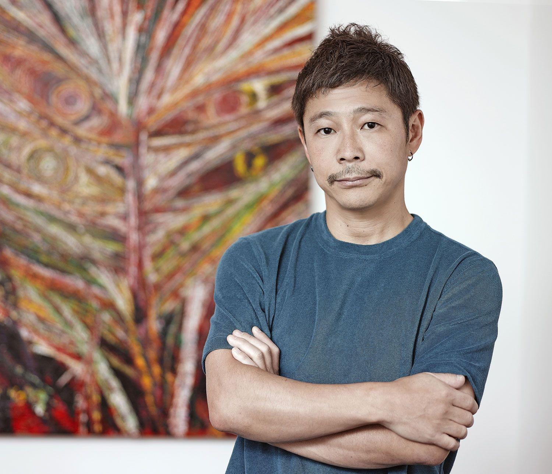 前澤友作氏 ©共同通信社
