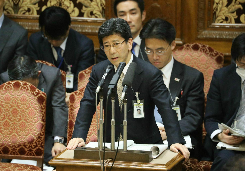 佐川国税庁長官 ©時事通信社