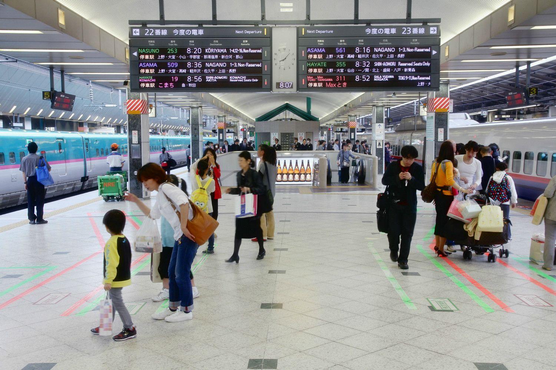 ストライキの舞台となった東北新幹線ホーム ©iStock.com