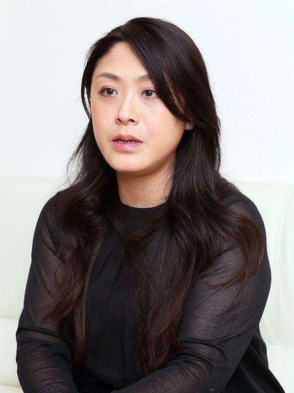 朝丘雪路さんの長女・真由子さん ©文藝春秋