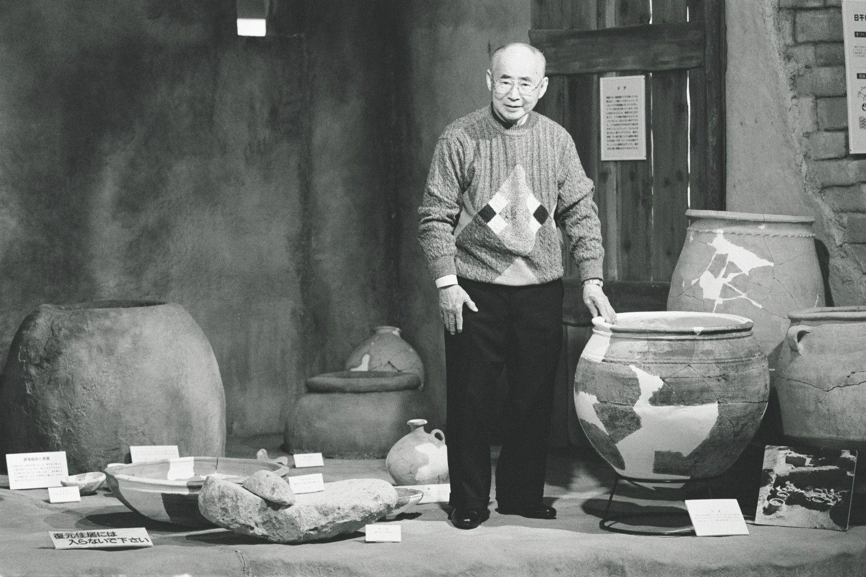 江上波夫 ©文藝春秋