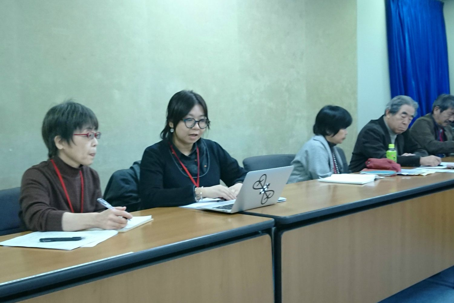 CCCEAの記者会見 撮影/筆者