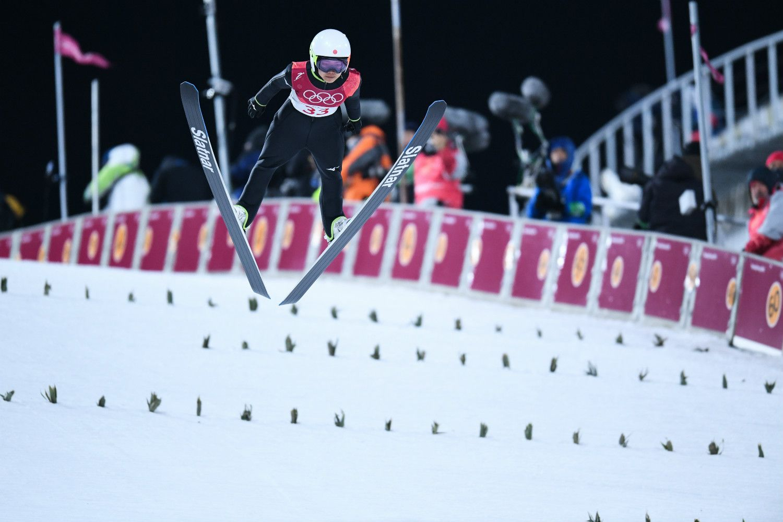 スキージャンプの高梨沙羅も契約選手の一人 ©JMPA