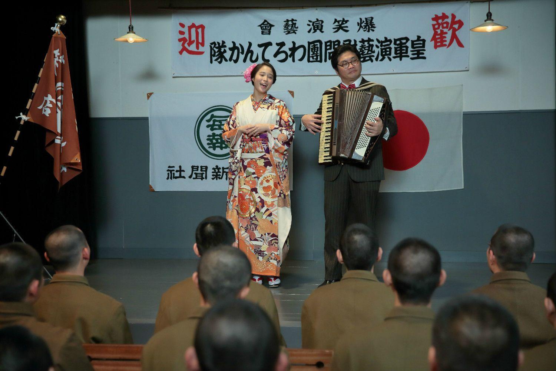 松尾さん(右)は『わろてんか』に出演 写真提供:NHK