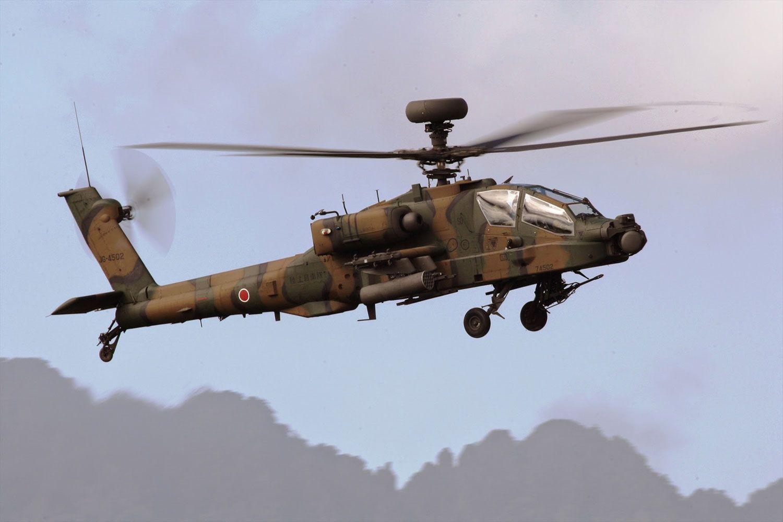 陸上自衛隊のAH-64D(陸自Googleフォトより)