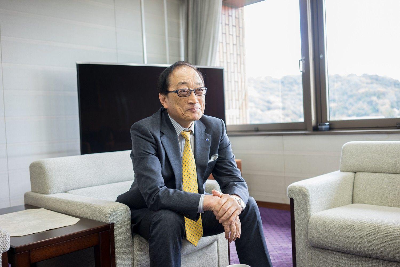 南海放送社長・田中和彦さん