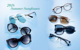 知性も野性も思いのままに。口ほどに物を言う今夏のメガネとサングラス