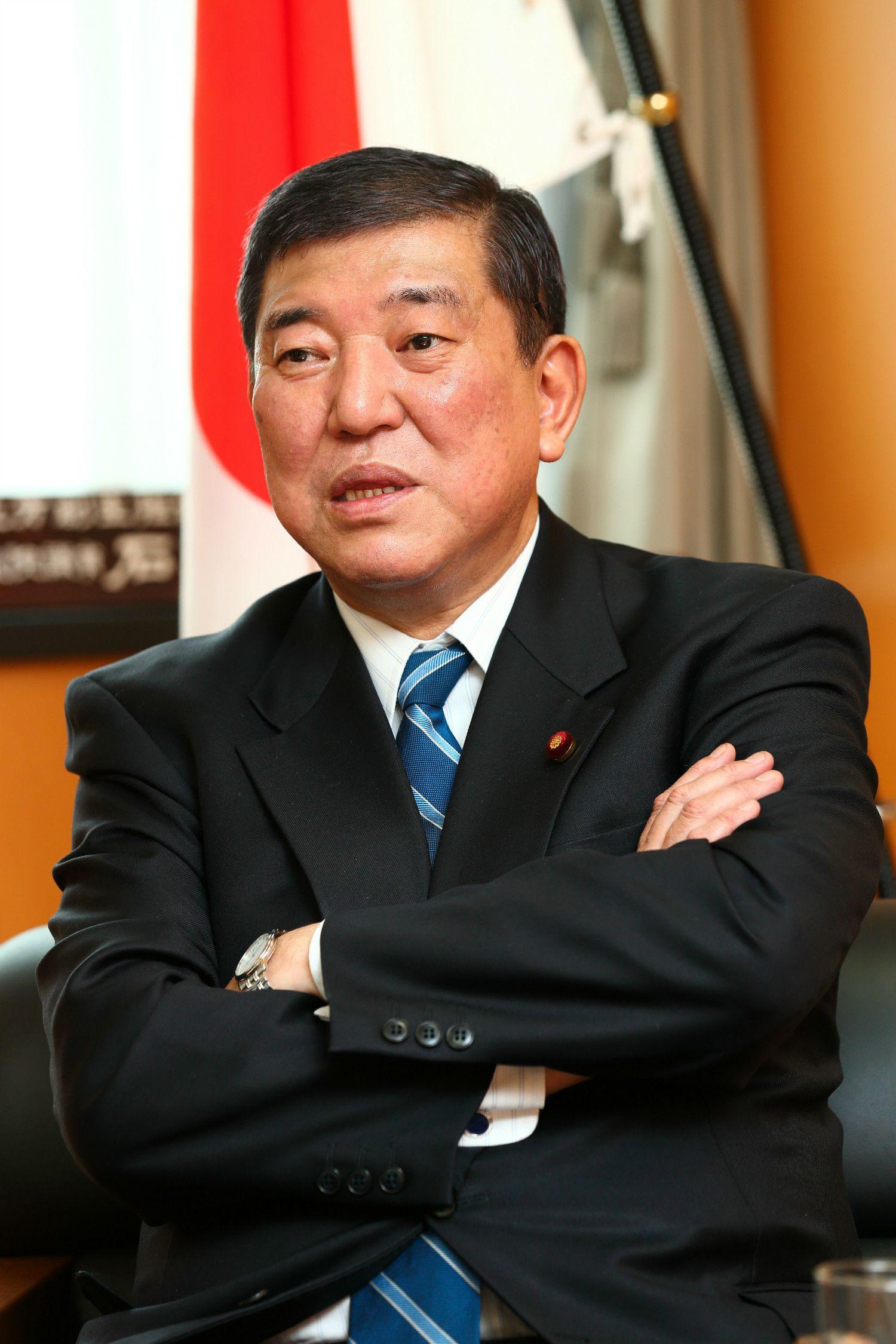 石破茂元国家戦略特区担当大臣 ©山元茂樹/文藝春秋