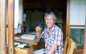 おかずがクネクネ 絵本界の「奇才」岡田よしたかが明かすデビューまでの数奇な人生