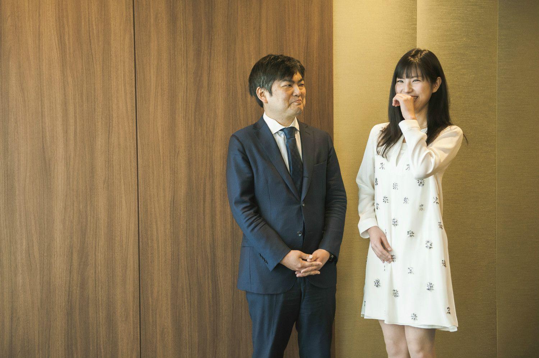瀧本哲史さん(左)と鈴木光さん(右)