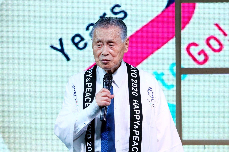 五輪組織委員会・森喜朗会長 ©AFLO