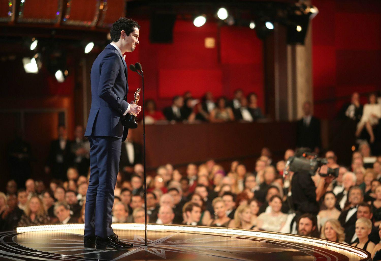 史上最年少で監督賞を受賞した32歳のデイミアン・チャゼル ©getty
