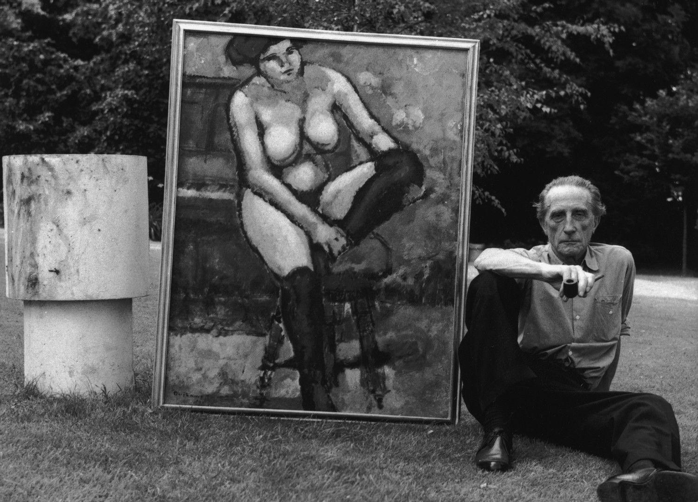 マルセル・デュシャン(1887-1968) ©getty