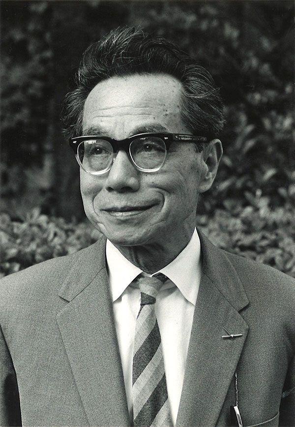 著者の吉野源三郎氏 ©文藝春秋