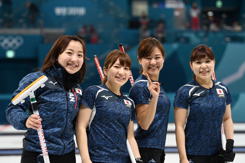 平昌五輪に出場しているカーリング女子日本代表チーム(LS北見) ©JMPA