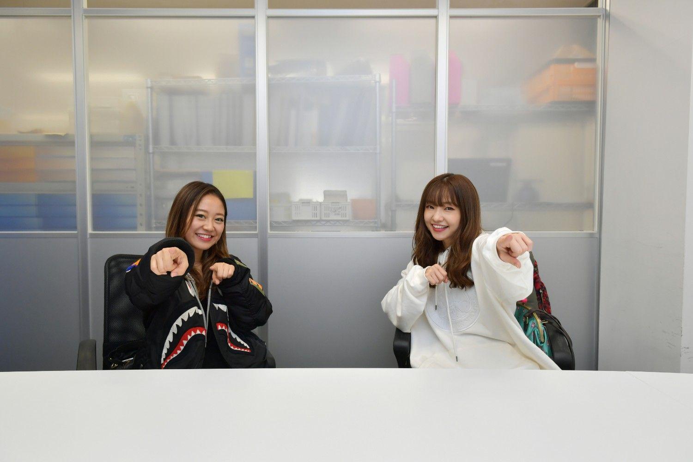 hy4_4yhの由香さんと由実さん。ふたりとも1989年生まれ。