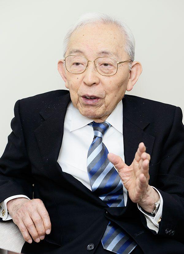 長谷川和夫氏(認知症介護研究・研修東京センター名誉センター長) ©文藝春秋