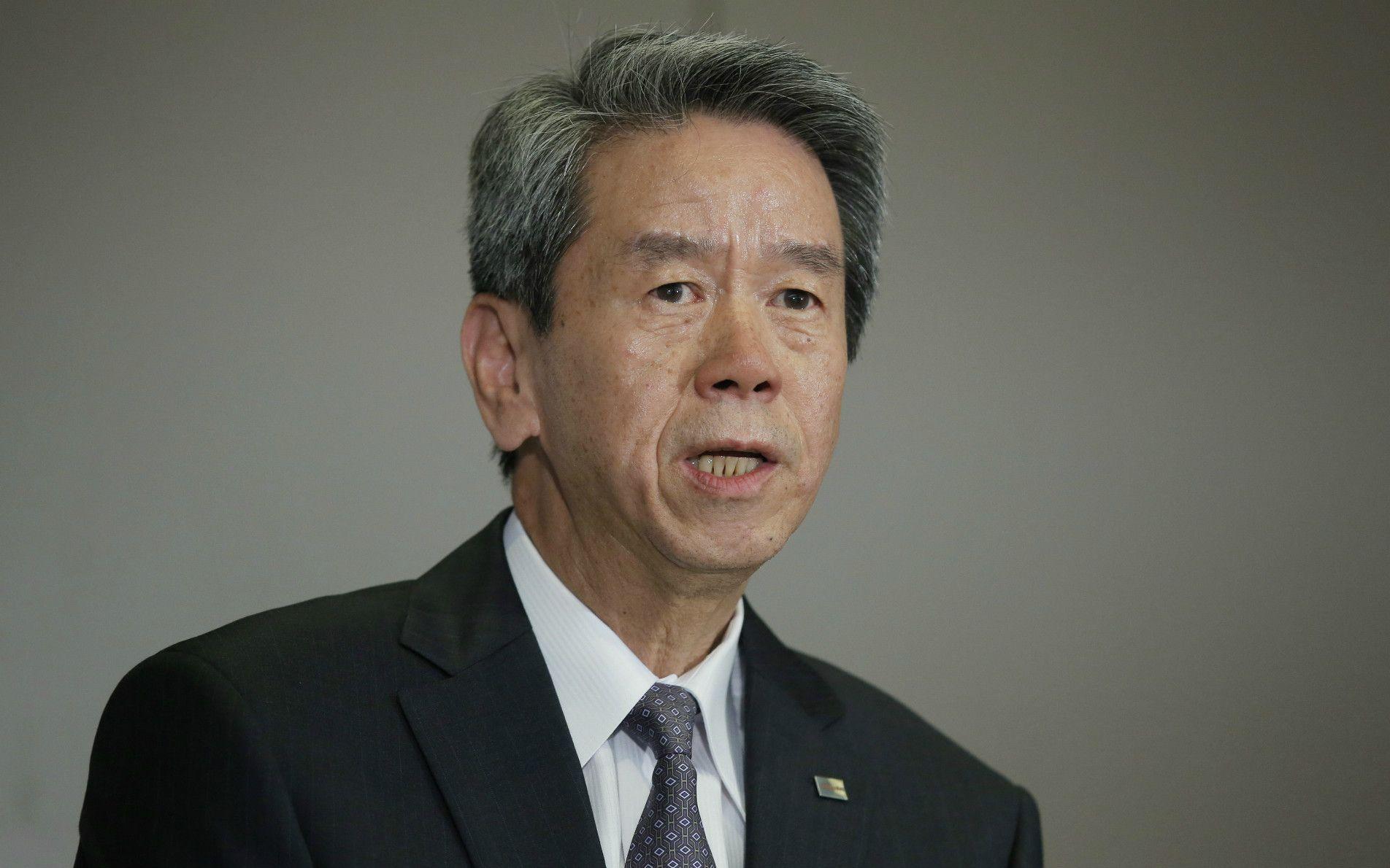 田中久雄元社長の苦しい反論 ©getty