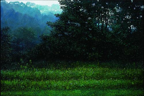 犬塚勉《林の方へ》 1985 年、個人蔵