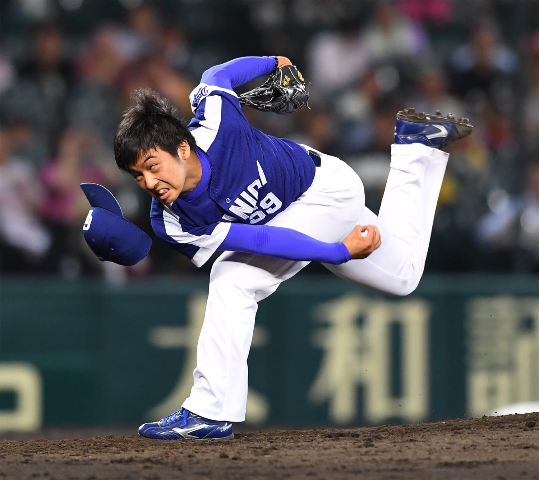 9月12 日の阪神戦で1軍デビューを飾った山本拓実