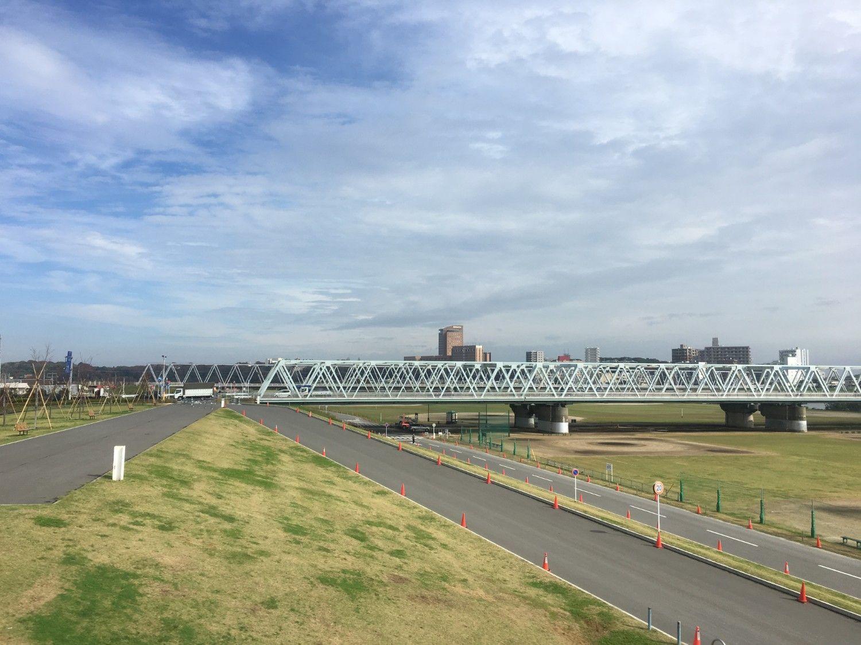 東京方面から総武線快速で江戸川を渡ればもうすぐJR市川駅だ