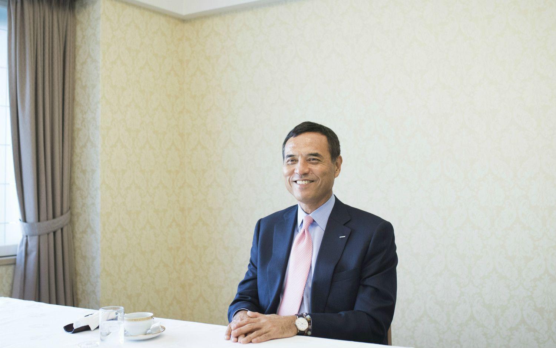 1月はダボス会議で世界のビジネスマン、政治家たちと交友  ©榎本麻美/文藝春秋