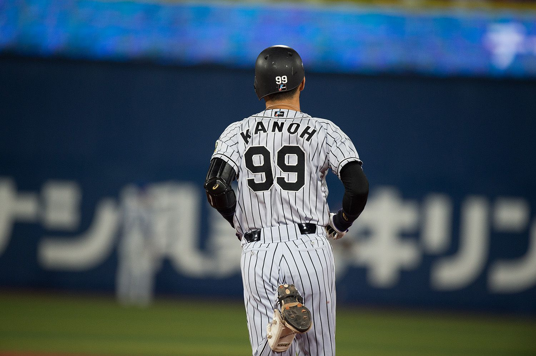 背番号「99」の前任者こと狩野恵輔氏 ©文藝春秋