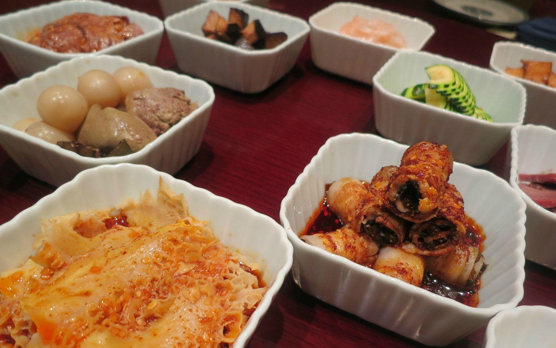 銀座の四川料理店「趙楊」。