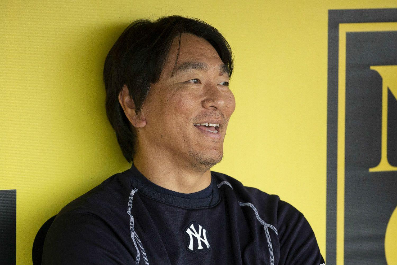 ヤンキースでGM特別アドバイザーを務める松井氏 ©Kotaro Ohashi
