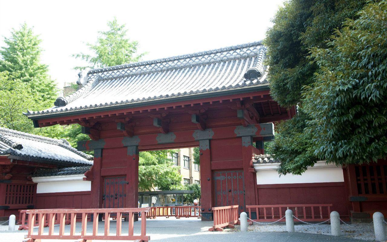 東京大学・赤門 ©文藝春秋