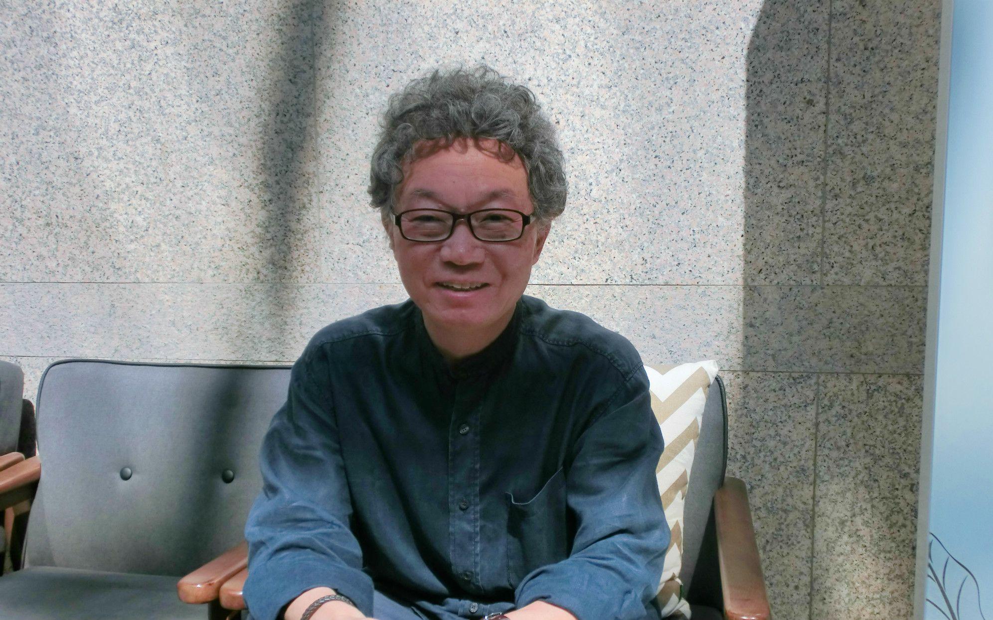 「韓国も核を造れる環境作りを」(徐鈞烈・ソウル大学原子核工学科教授)©菅野朋子