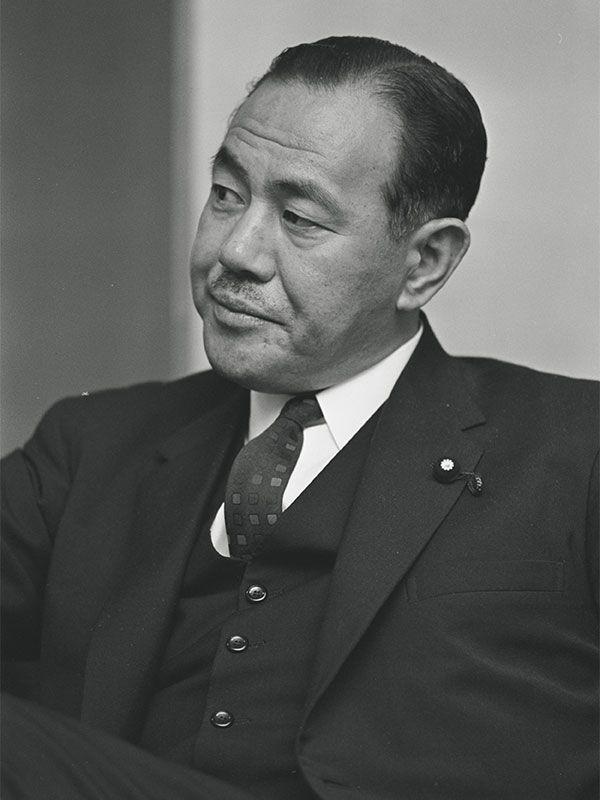 田中角栄 ©文藝春秋
