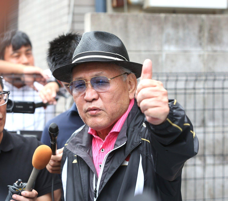 日本ボクシング連盟・山根会長は辞任した ©AFLO