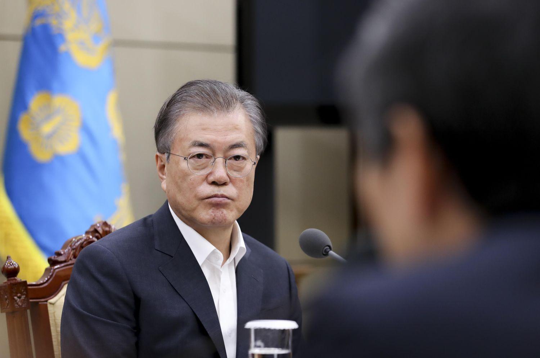 文在寅韓国大統領 ©Getty Images