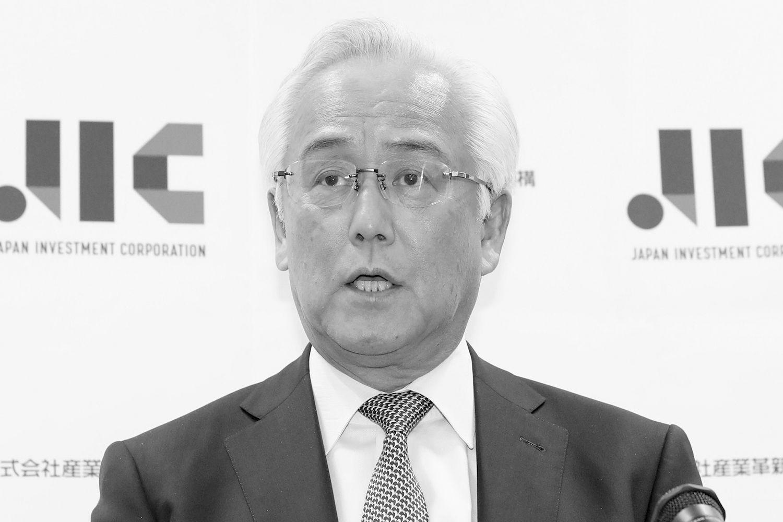 声を荒げた田中JIC理事長