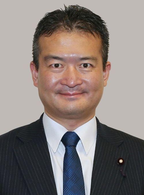 独身の津村氏は女性記者との仲の良さも評判 ©共同通信社