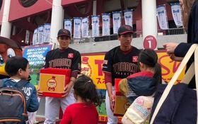 岡島、銀次……楽天選手の震災への想い 「がんばろう東北シリーズ」の舞台裏