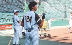 背番号124の「野球小僧」 阪神・横田慎太郎が脳腫瘍から復活する日