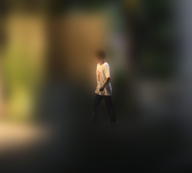 織田奈那の自宅に入るA氏 ©文藝春秋